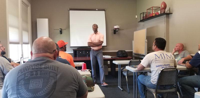 Alex Willis Leadership Training