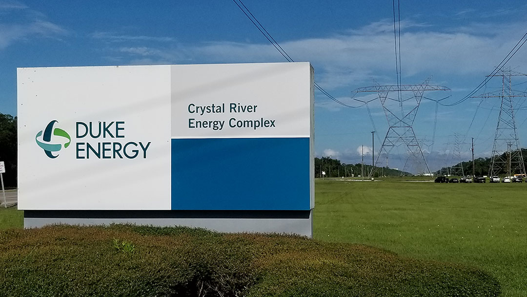 Duke Energy Crystal River Entrance