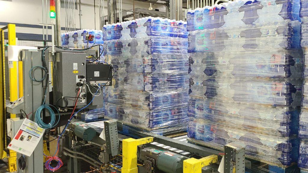 Nestle Pallitizer